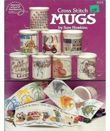 Mugs in Counted Cross Stitch ASN 3573 Sam Hawkins 1991 20 Designs - $4.99