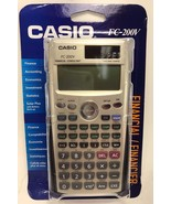 Casio - FC-200V - Financial Calculator with 4-Line Display - $39.55