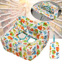 Baby Kids Shopping Cart Cushion Children Trolley High Chair Car Foldable  - $28.00