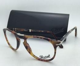 Plegable Persol Rx-Able Gafas 9714 V M 108 50-20 Caffe Havana Monturas con /