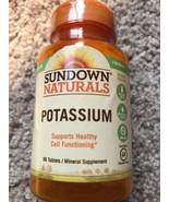 Sundown Naturals Potassium 90 Tablets  Exp. 05/2021 - $8.55