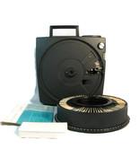 Vintage Eastman Kodak Carousel 600 Projector Carousel Tray 79 Slides Manual - $85.13