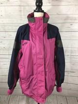 Columbia Bugaboo Womens Ski Jacket Size Medium Purple Shell Only - $18.49