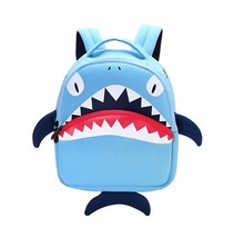 lovely cartoon shark kids weight burden reducing waterproof school bag - $28.00