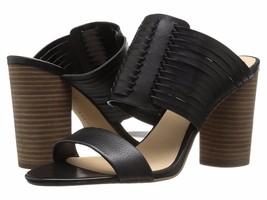 Women Vince Camuto Astar Woven Block-Heel Sandals, Size 8.5 Black VC-ASTAR - €67,56 EUR
