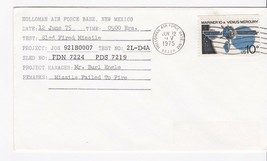 PROJECT JON SLED FIRED MISSILES  HOLLOMAN AFB, NM JUNE 12, 1975 - $1.78