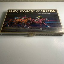 Win, Place & Show 1966 Vintage Board Game 100% COMPLETE Horse Racing 3M - £33.98 GBP