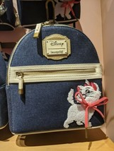 Disney Parks Marie Aristocats Epcot France Pavilion Loungefly Mini Backpack - $99.99