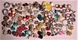Vtg Lot Earrings Clip-On Screw-back Germany Trifari Coro Sarah Cov Japan 50+ Pr - $153.45
