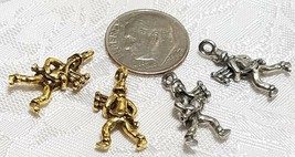 PIPERS PIPING BAGPIPES FINE PEWTER PENDANT CHARM image 2