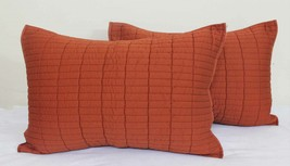 Quilted Pillow cloth Set (2 pc) 52 x 68 CM 530g... - $29.00