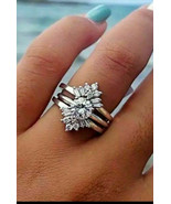 georgous 925 SS wedding ring size 7,8 & 9 available - $26.70