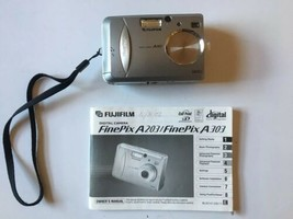 Fuji Film A Series A203 Digital Camera Metalic Silver - $51.82