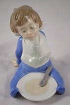 NAO Lladro CHILD Porcelain Figurine Baby Kid Vintage Collectible Daisa S... - $80.00