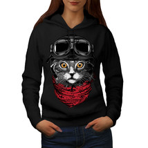 Cute Fashion Pilot Cat Sweatshirt Hoody  Women Hoodie - $21.99+