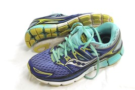 Saucony Triumph ISO FIT 2 EVERUN Running Womens Grey Blue Shoe Size 8.5 S10291-1 - $29.70