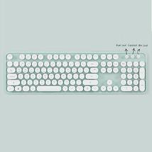 Actto KBD47 USB Wired Retro Korean English Keyboard (Mint) image 4