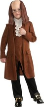 Benjamin Franklin Kids Costume Child Large - $969,72 MXN