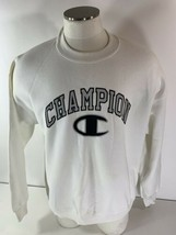 Vintage Champion 50/50 Sweatshirt Made in USA Big Block C Spellout Logo ... - $74.24