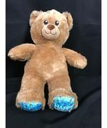Build A Bear Happy Birthday Plush Teddy Brown New Patch 2018 - $19.79