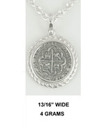 Rope Mel Fisher Atocha Pirate Spanish Coin Shipwreck Pendant Key West Si... - $55.89