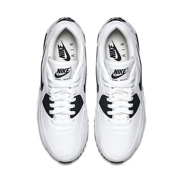 the latest 7e2d3 58447 NIKE AIR MAX 90 ESSENTIAL WHITE BLACK SHOES SIZE 7.5 BRAND NEW (616730-