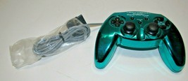 Joytech Rare Green Sony Playstation PS1 Controller Good working condition - $26.07