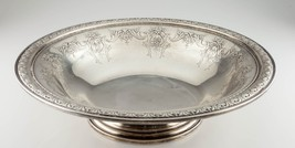 Gorham Sterling Silver King Edward Large Footed Bowl #378 Gorgeous Centerpiece! - $1,484.99