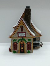 Dept. 56 Snow Village Popcorn and Cranberry House 56388 Lighted Retired ... - $24.70