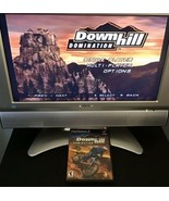 Downhill Domination (Sony PlayStation 2, 2003) PS2 Black Label TESTED WORKS - $14.20
