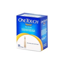 OneTouch Verio Test Strips - 50 ct - $35.00