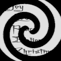 Joy Love Peace Believe Christmas Font 1smp-Digital ClipArt-Tshirt-Jewelr... - $3.99