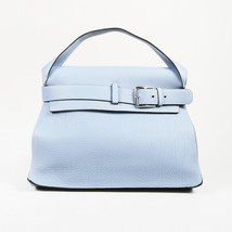 "Hermes ""Sac Etribelt"" Bleu Lin Togo Leather Bag - $3,260.00"