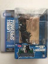 McFarlane Collectors Exclusive Figure Latrell Sprewell Timberwolves BENT... - $13.76
