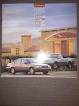 1993 Toyota Line 32-page Sales Brochure Land Cruiser Truck 4Runner MR2 T100 - $10.19