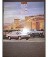 1993 Toyota Line 32-page Sales Brochure Land Cruiser Truck 4Runner MR2 T100 - $10.19