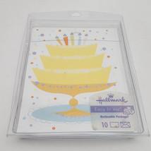 Hallmark 10 Birthday Invitations/Announcements With Designed Envelopes - $6.79