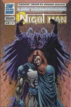 (CB-4) 1994 Malibu Comic Book: The Night Man #4 - $2.00
