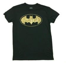 DC Comics Batman Shirt Men's Size Extra Small XS Adult Black Gold Graphi... - $13.08