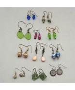 Vintage Lot of 11 Colorful 1990's Earrings Dangle - $74.24