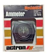 ACTRON AMMETER G-103 ILLUMINATED SINGLE GAUGE KIT FOR CAR TRUCK BOAT 60-... - $9.99