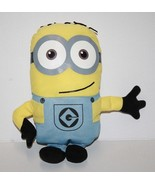 "Universal Studios DESPICABLE ME Minion 12"" Plush Soft Toy 2 Eyes Toy Fac... - $15.45"
