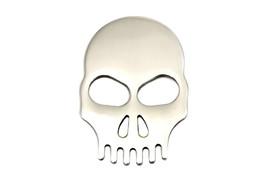 Stainless Steel Fender Medallion with Skull for Harley Davidson motorcycles - $25.00