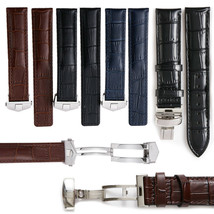 19-22mm Leather Watch Band Strap For Baume & Mercier Classima Clifton et... - $39.99