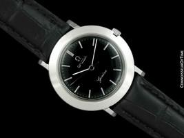 1971 OMEGA Geneve Vintage Hommes Ss Acier Disco Volante Watch - Mint Avec - $1,265.02