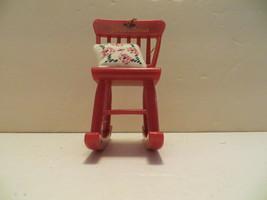Avon Timeless Treasures Grandma Rocking Chair Ornament - $9.89