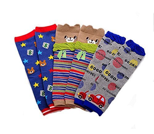Baby Cotton Socks Baby Leggings Comfy Leg Guards,3 Sets£¨Boys)