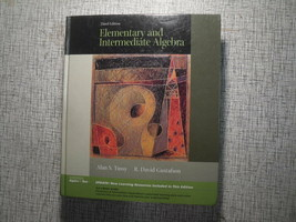 Elementary and Intermediate Algebra by Tussy, Gustafson 3rd Ed STEM Text... - $15.53