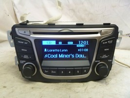 15 16 17 Hyundai Accent Radio Cd SAT Media Player 96170-1R111RDR Bulk 1012 - $54.45