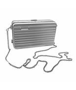 Beauty Yaya Women Alloy Crossbody Bags Metal Clutch Chain Handbag (Silver) - $58.30